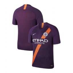 2018/19 Manchester City Soccer Third Purple Authentic Jersey