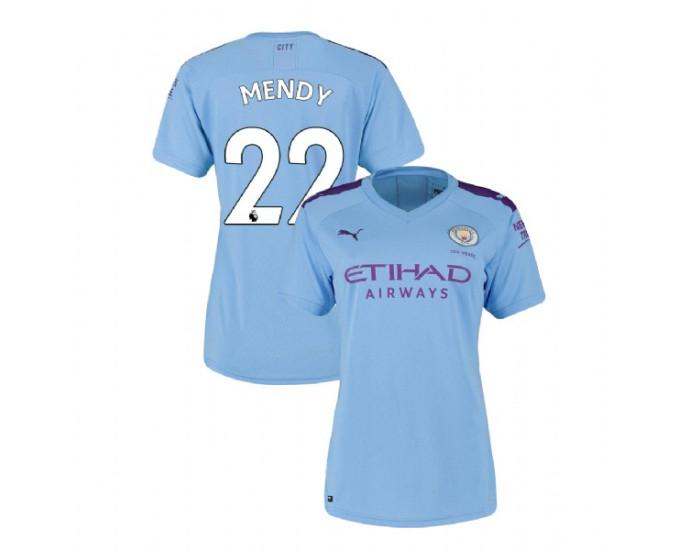 Women's Manchester City Soccer 2019-20 Home #22 Benjamin Mendy ...